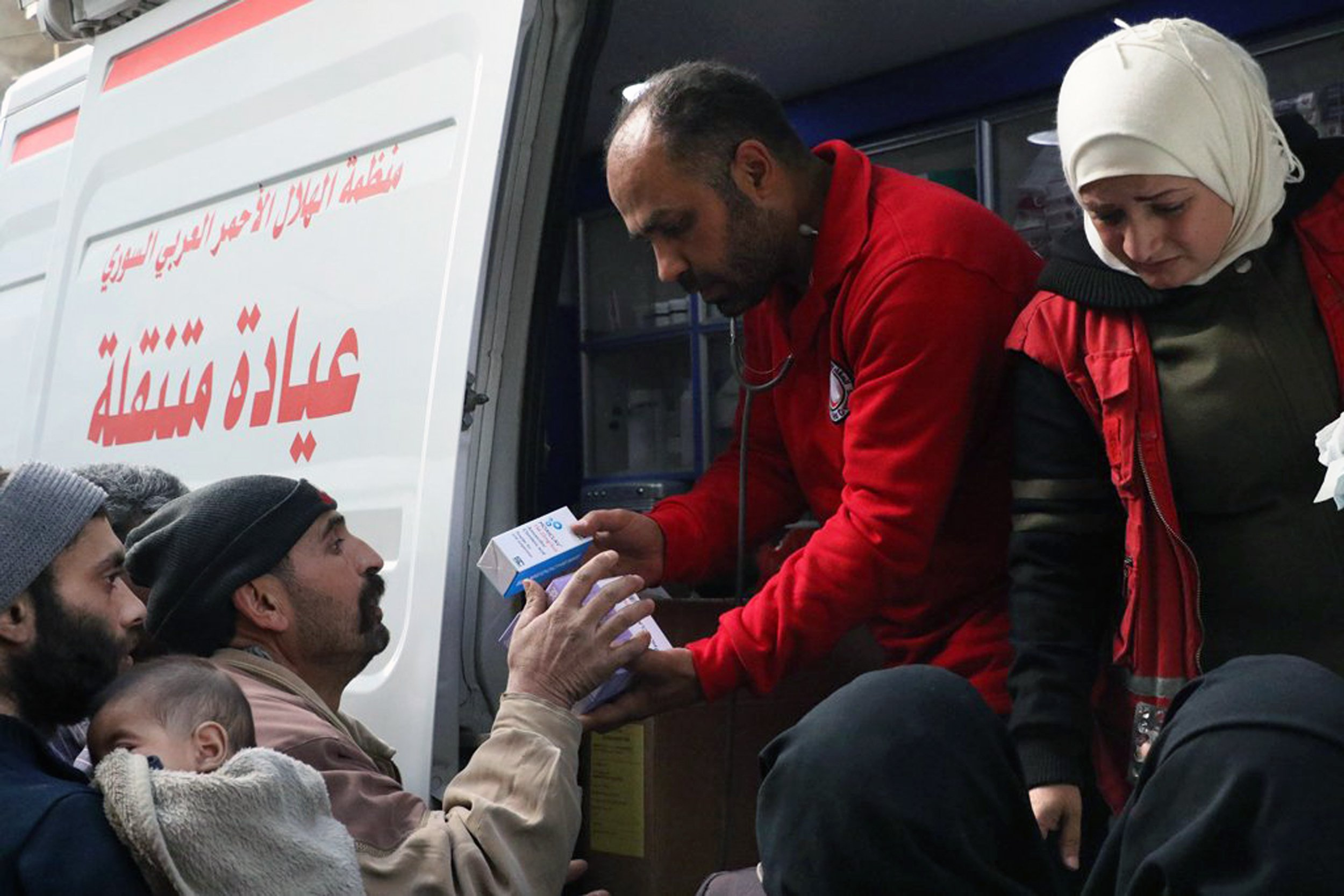 Violence halts rare aid delivery to Syria's eastern Ghouta thumbnail
