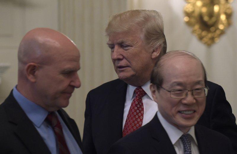 Donald Trump, H.R. McMaster, Liu Jieyi