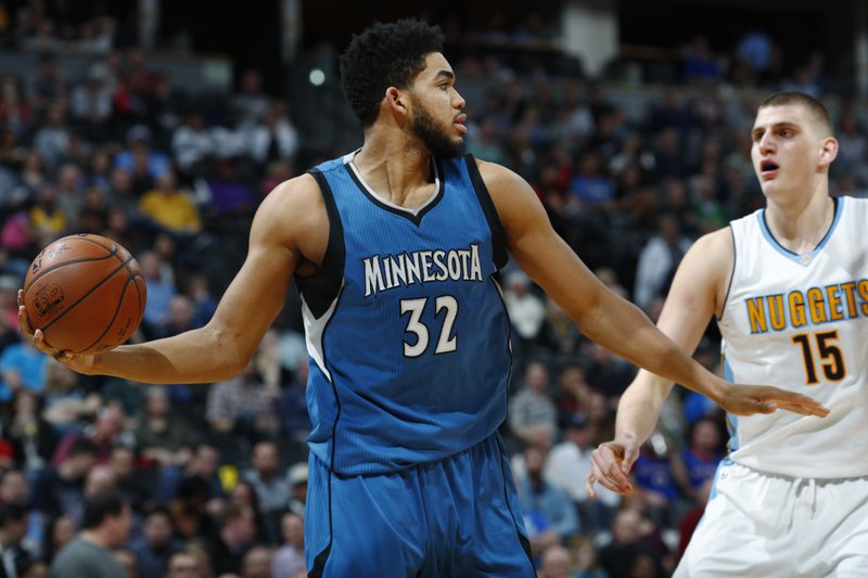 Nikola Jokic, Karl Anthony Towns