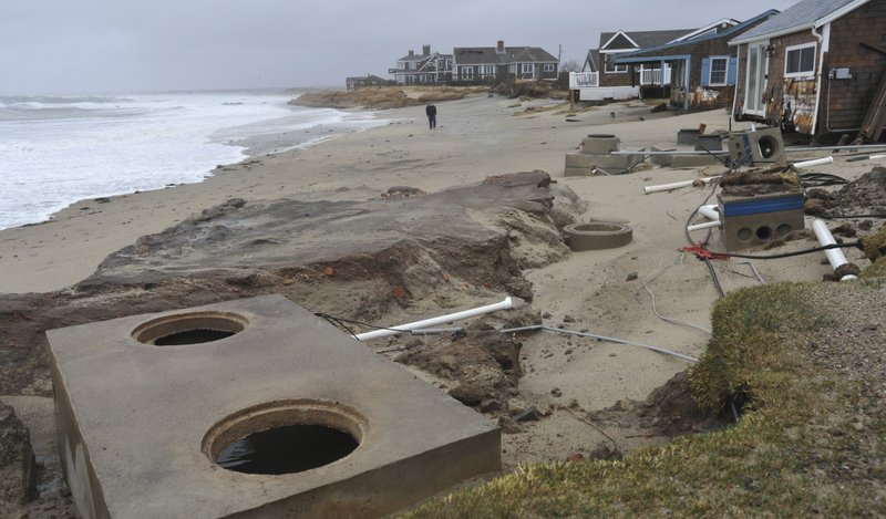 Nor'Easter Hits Cape Cod