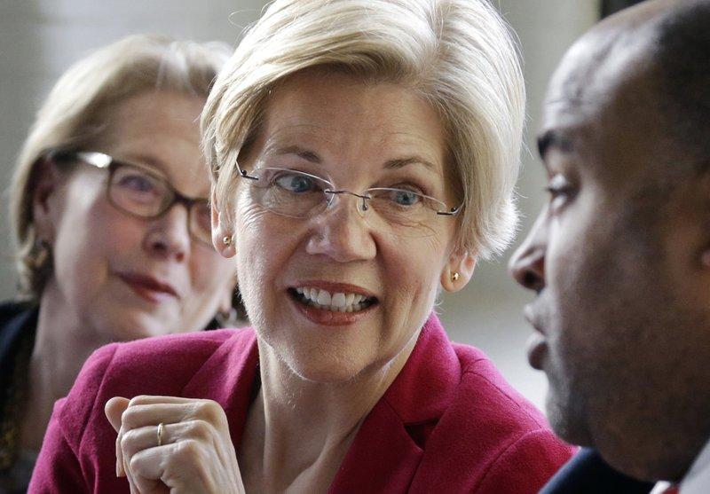 Elizabeth Warren, Niki Tsongas, Daniel Rivera