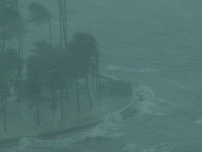 Up Close Views of Powerful Irma
