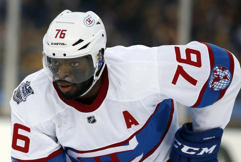 hot sales c87cb a4e1b Predators acquire P.K. Subban from Canadiens for Shea Weber