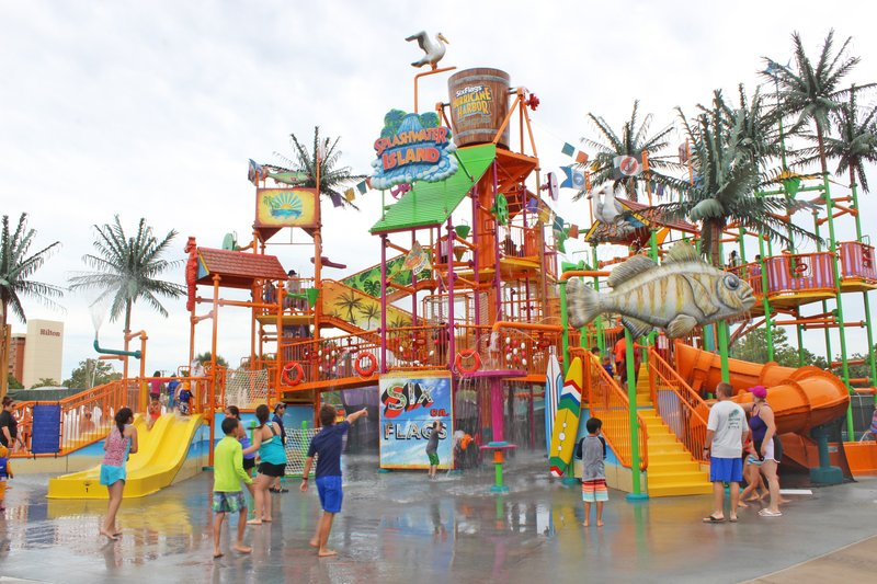 Massive New Water Play Area, Splashwater Island, Opens at Six Flags Hurricane Harbor Concord