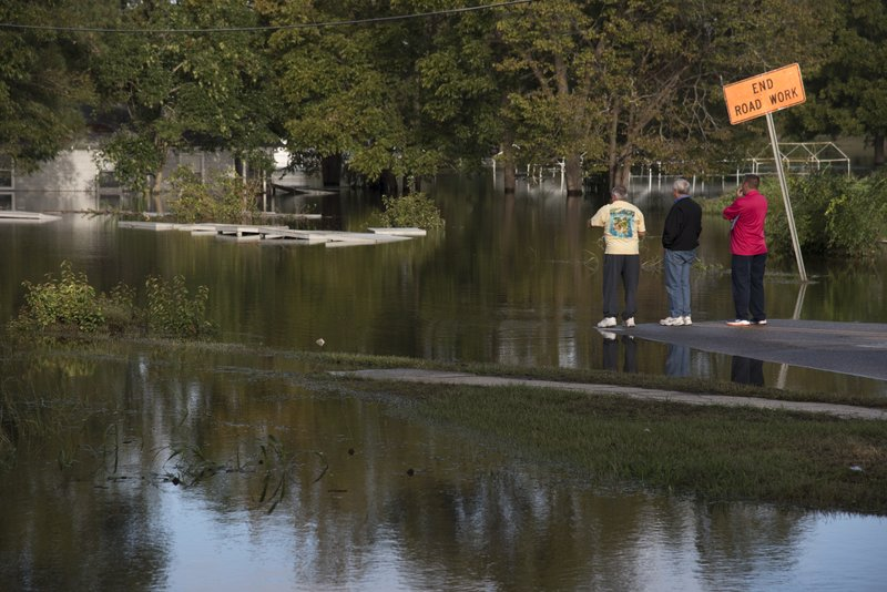 River that gave life to N. Carolina town now tears it apart