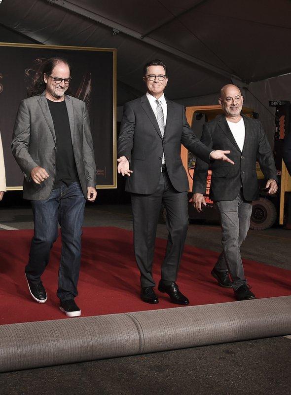 Glenn Weiss, Stephen Colbert, Jack Sussman