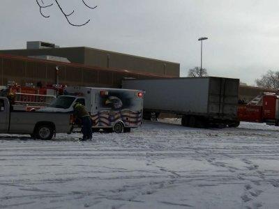 Semi-Truck Crashes Into Minnesota School, 4 Hurt