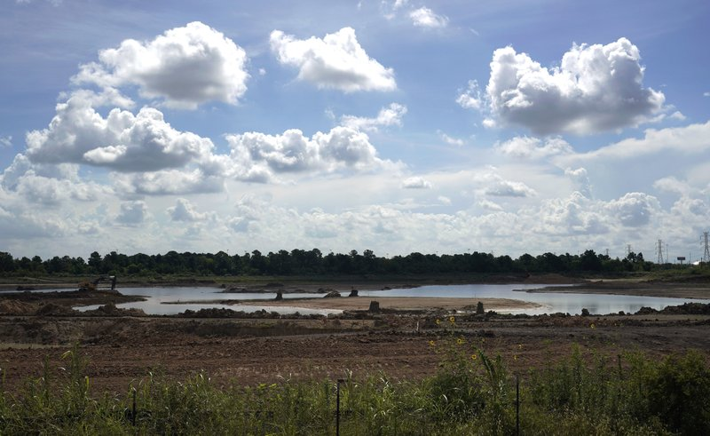 Hunting Bayou Detention Pond