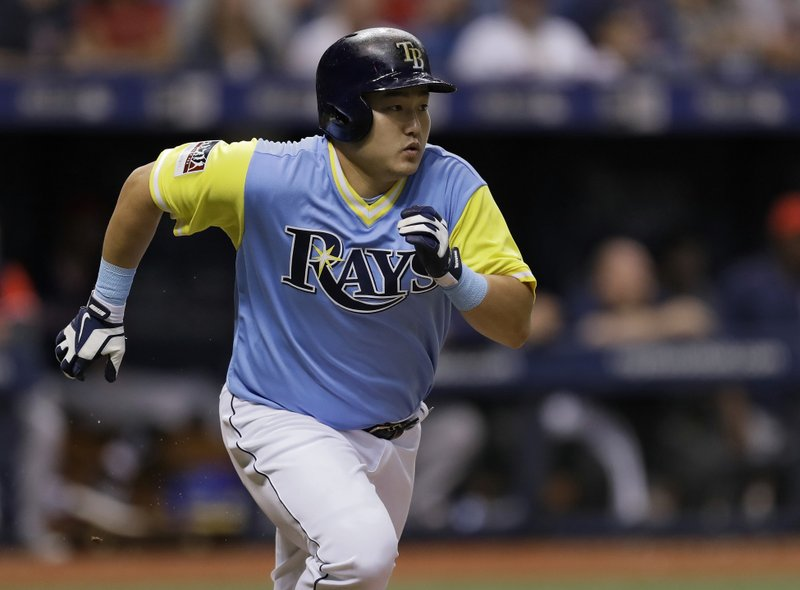 kiermaier pham help rays beat red sox 5 1 for 7th straight