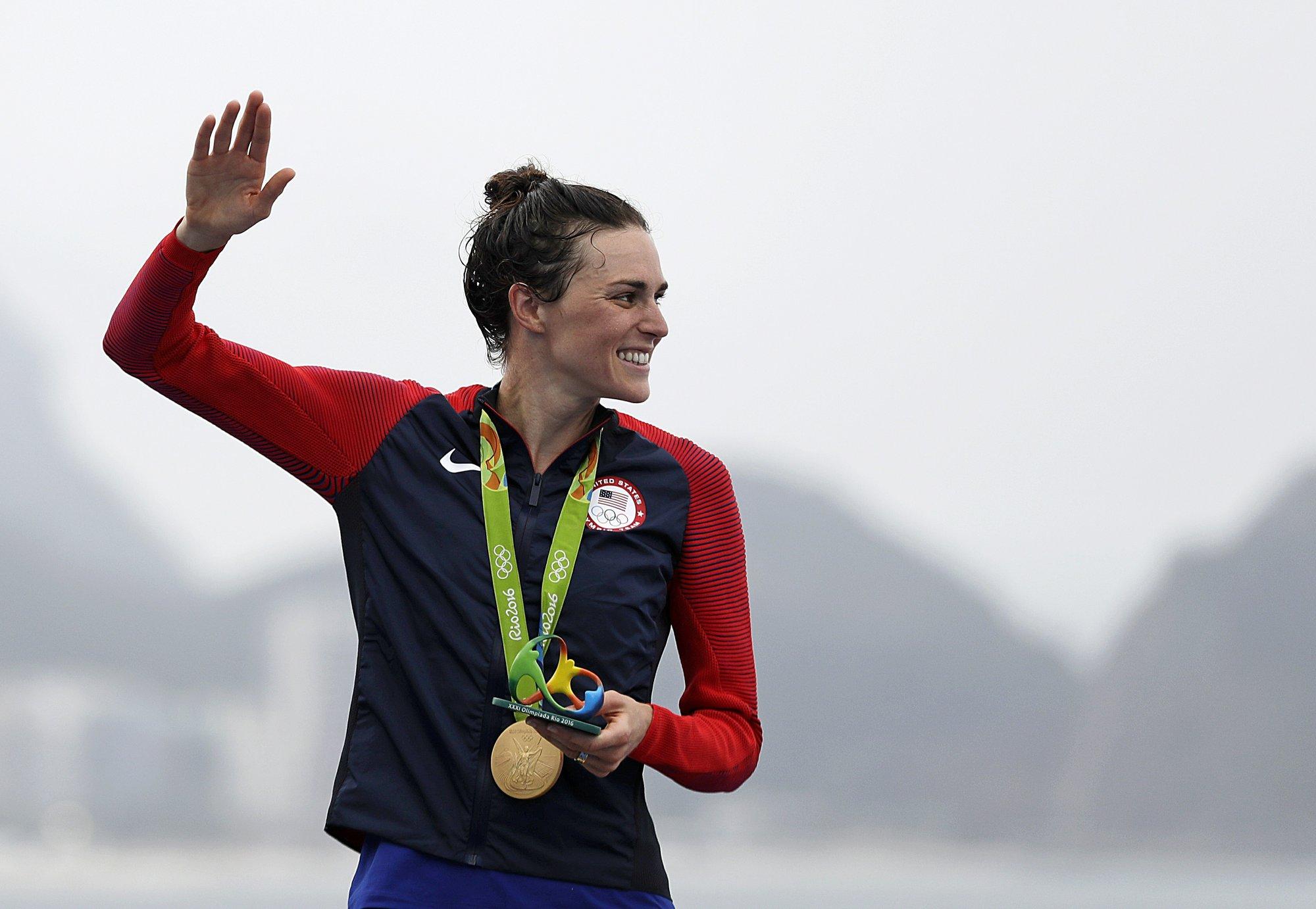 Gwen Jorgensen gives US first Olympic gold in triathlon