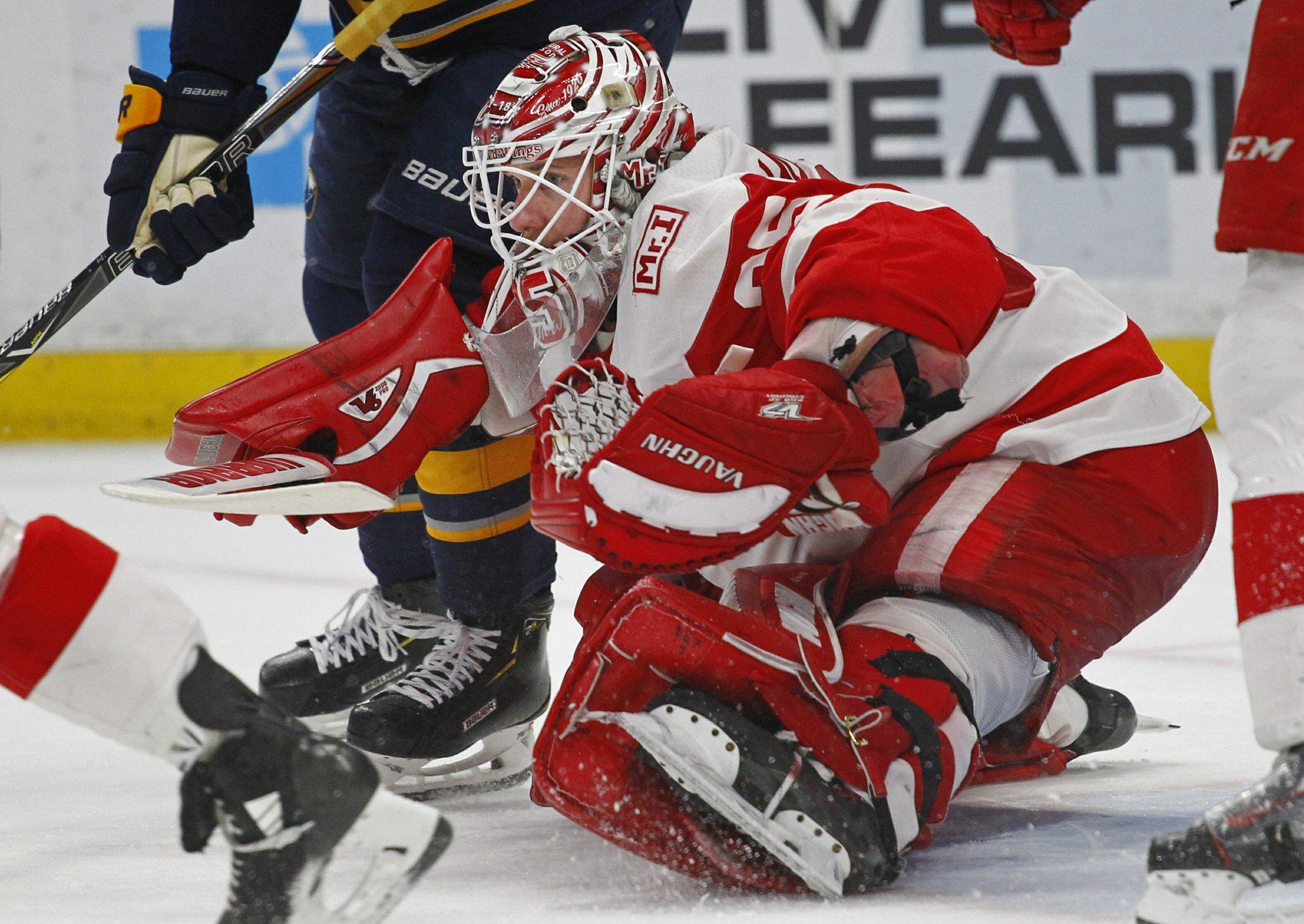 Red Wings lean on 22-year-old Dylan Larkin to lead new era