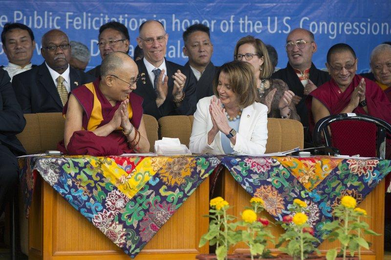 Us Reps Dalai Lama Take Aim At China Sore Spot Tibet
