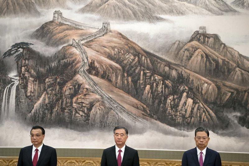 Li Keqiang, Wang Yang, Zhao Leji