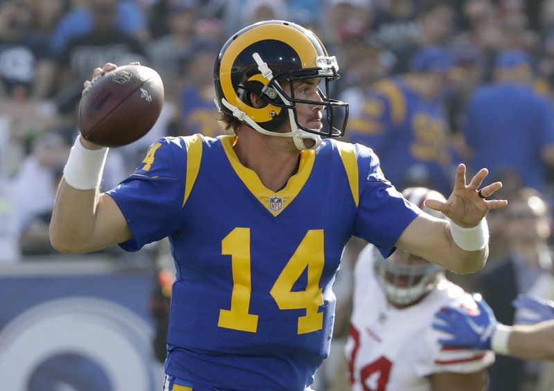 factory price 8cce8 1036c Rams listen to fans, increase use of blue-and-yellow jerseys