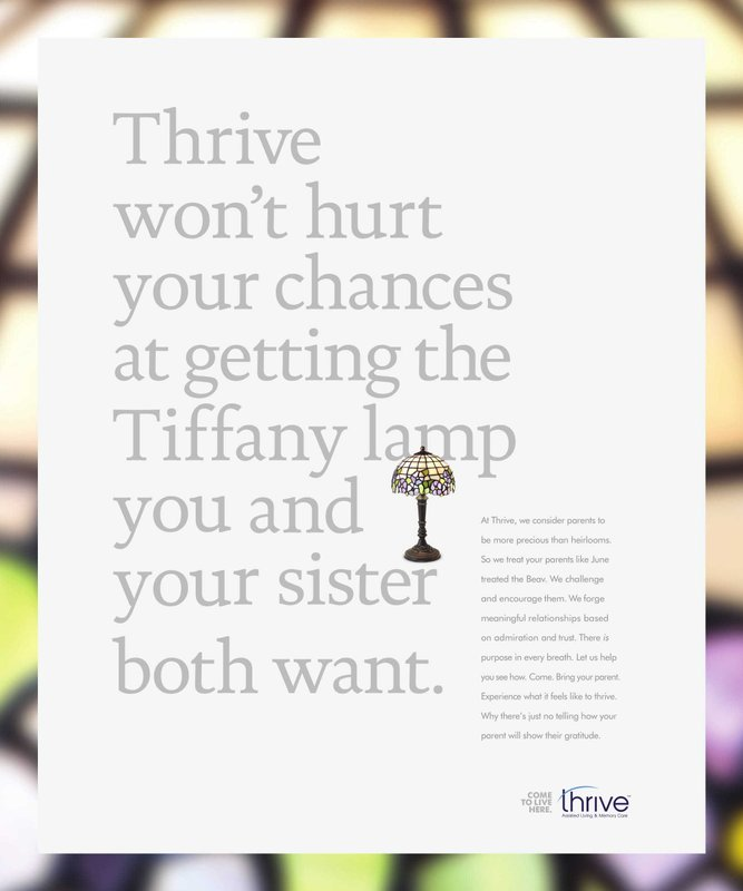 Thrive Senior Living Shakes up Industry with 'Playing Favorites' Brand Campaign