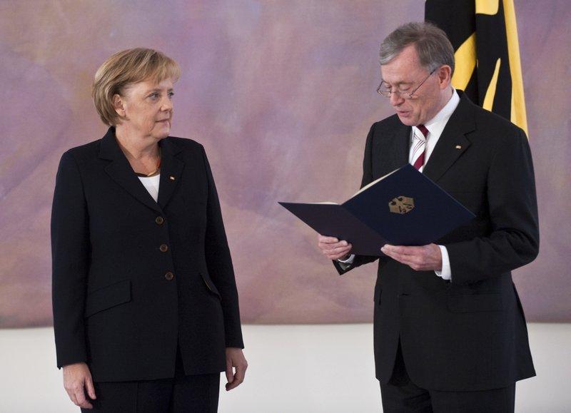Angela Merkel, Horst Koehler