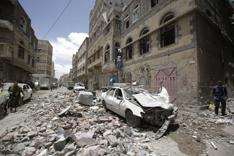 Saudis blame Iran for drone attack amid calls for US strikes