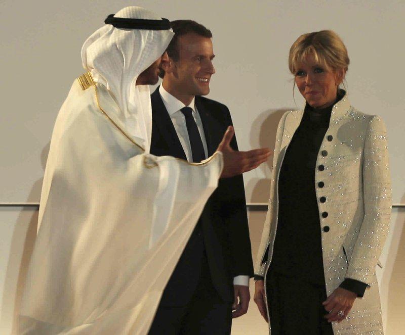 Emmanuel Macron, Mohammed bin Zayed al-Nahayan