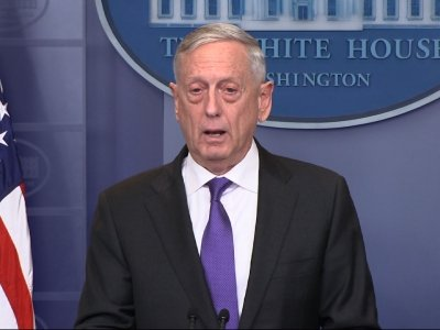 "Mattis: Government Shutdown ""Paralyzes"" Military"