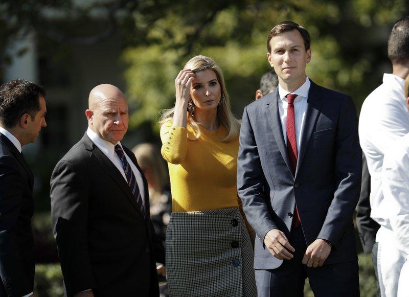 H.R. McMaster, Ivanka Trump, Jared Kushner