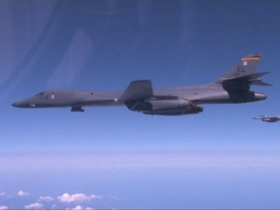 US, SKorea Fly Bombers in Show of Force