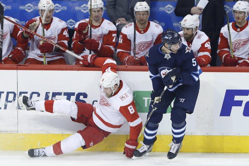 Winnipeg Jets vs Detroit Red Wings