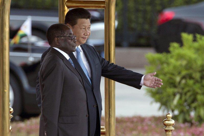 Xi Jinping, Robert Mugabe