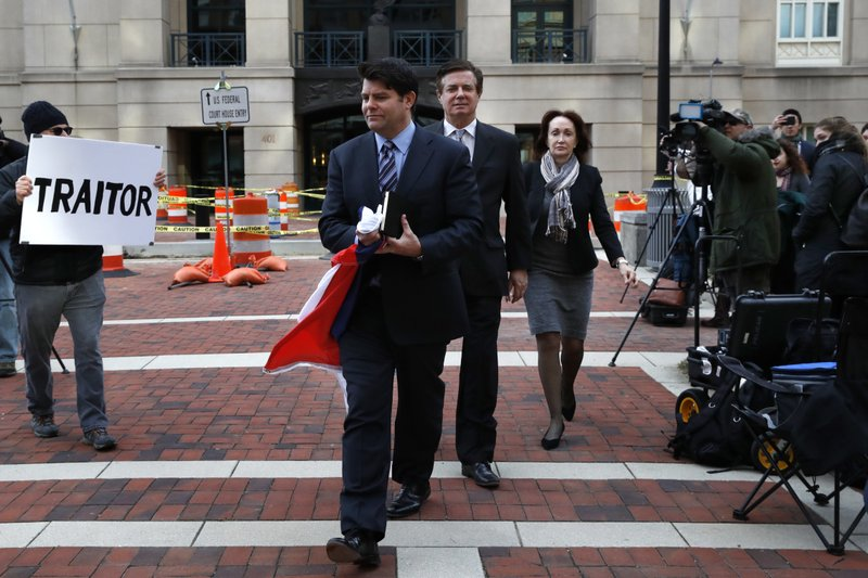 Paul Manafort, Kathleen Manafort, Jason Maloni, Bill Christeson