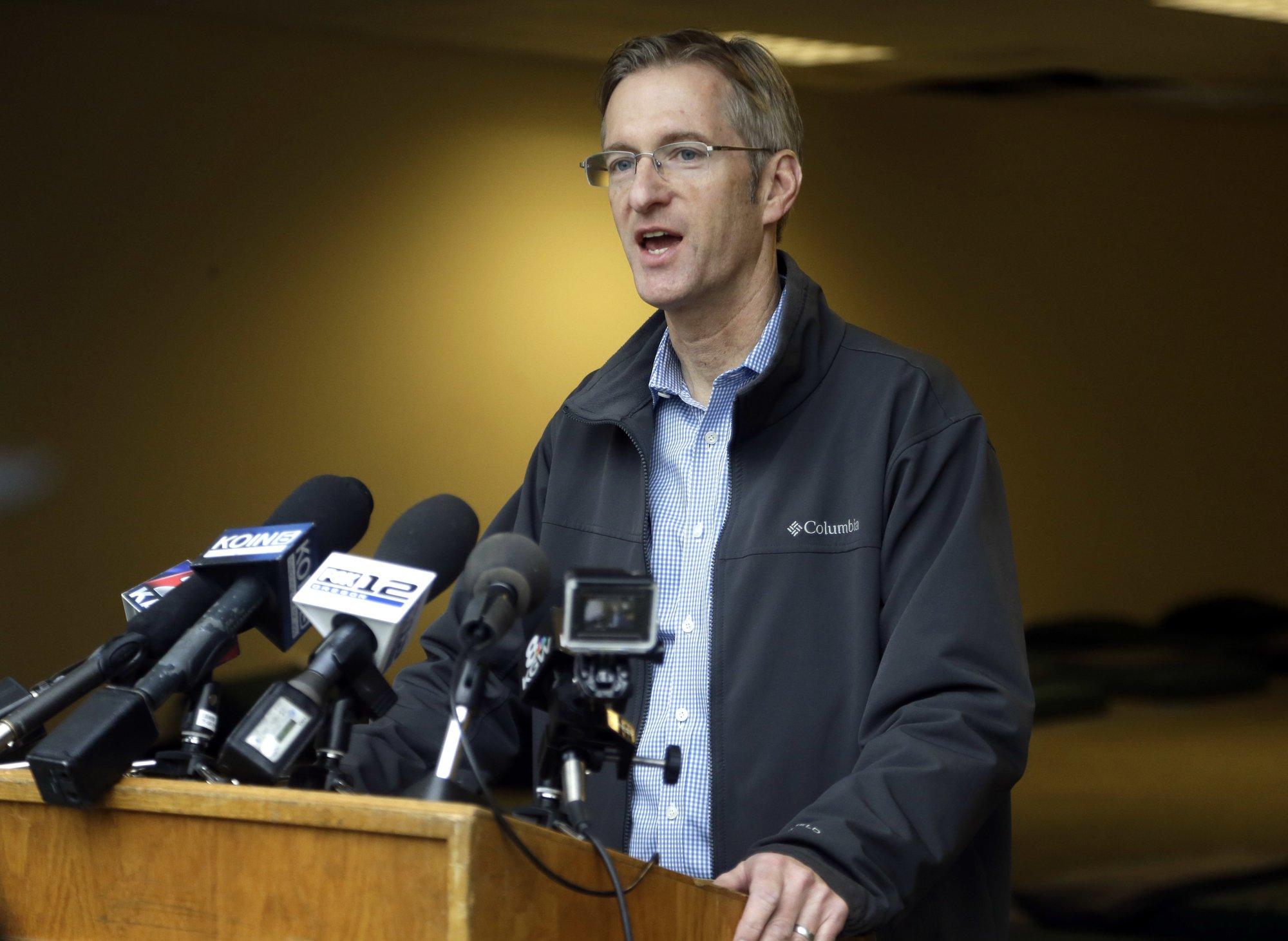 Assault arrest made after Portland. Oregon, mayor complains