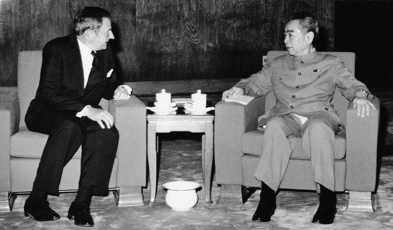 David Rockefeller, Chou En-lai