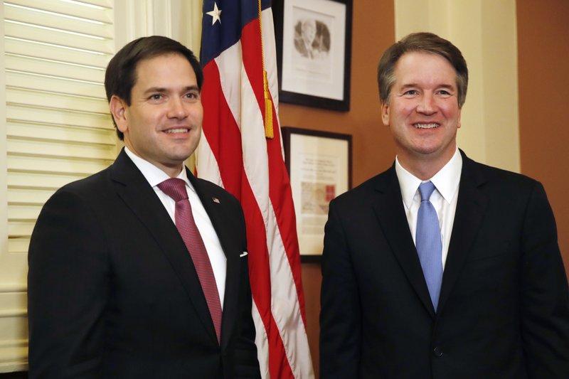 Brett Kavanaugh, Marco Rubio