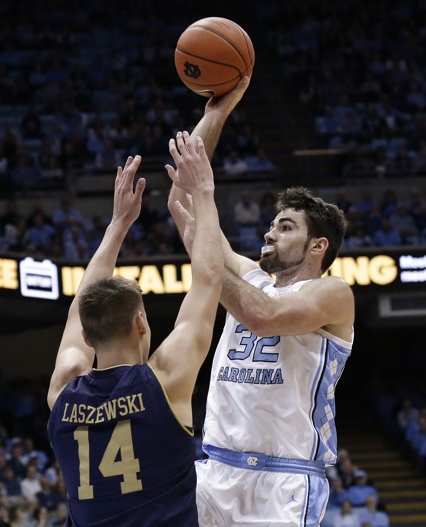 buy popular c5665 07160 Little, No. 13 North Carolina hold off Notre Dame 75-69