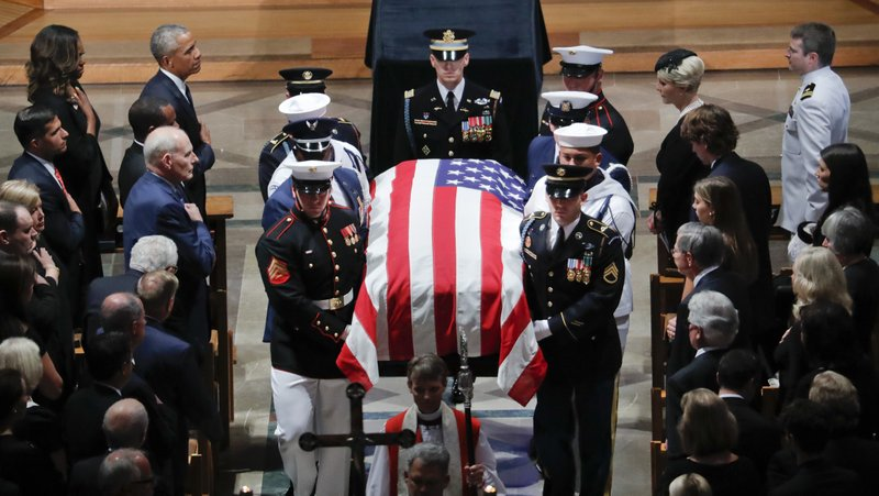 John McCain, Barack Obama, Michelle Obama, John Kelly