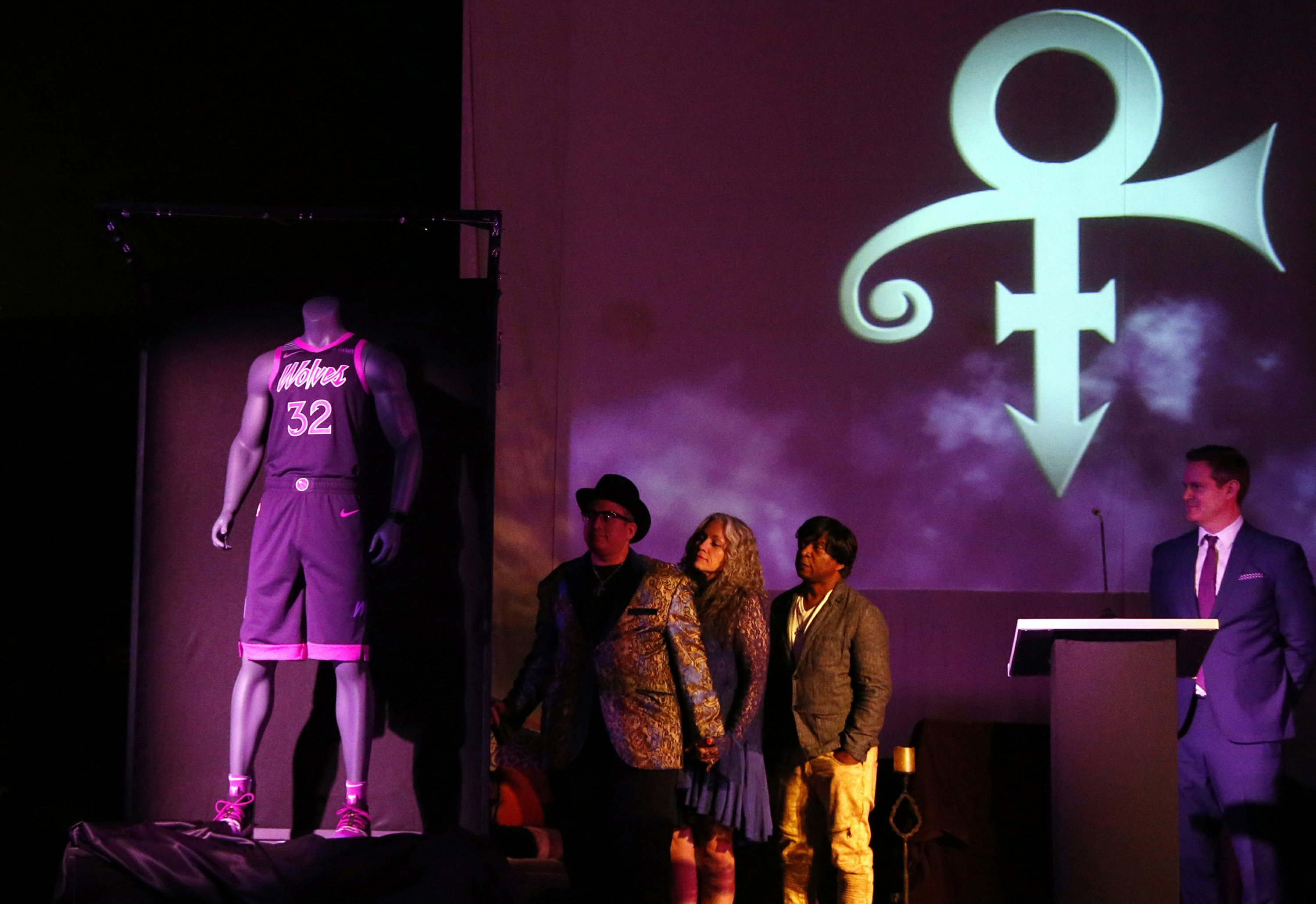 Minnesota Timberwolves unveil Prince-inspired uniform 7e003ee47