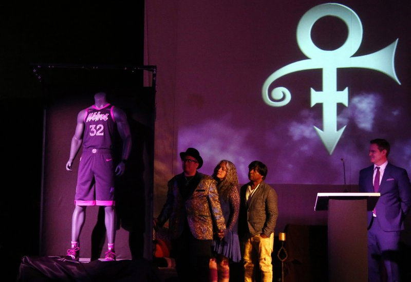275fabad9 Minnesota Timberwolves unveil Prince-inspired uniform