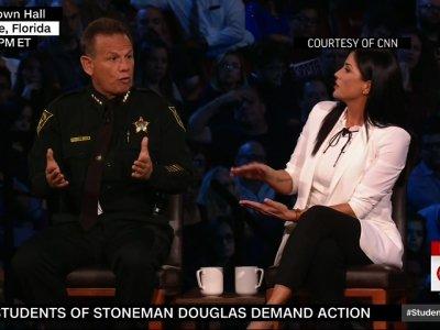 Sheriff, NRA Spokeswoman Clash at CNN Town Hall