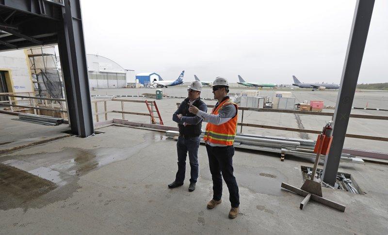 Suburban Seattle getting rare, private US airport terminal
