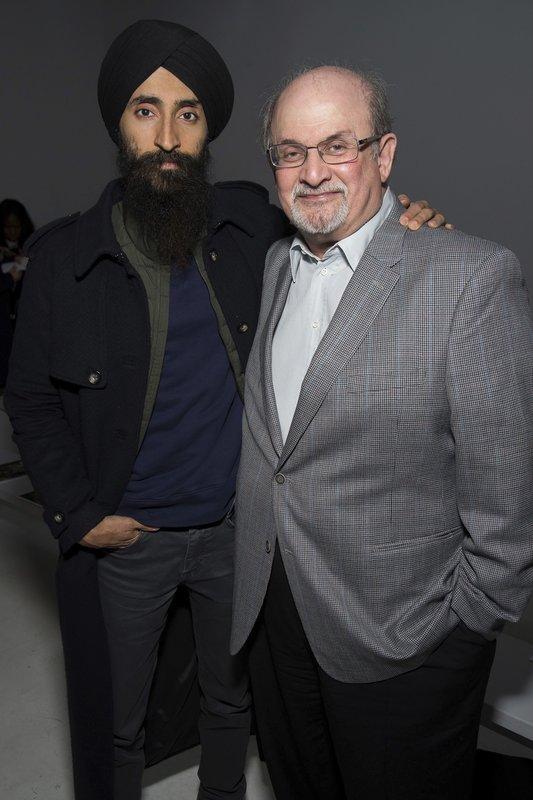 Salman Rushdie, Waris Ahluwalia