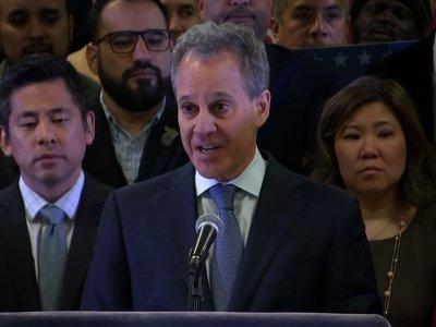 New York Attorney General Schneiderman Resigns