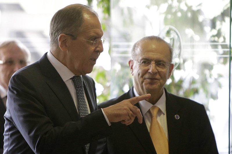 Ioannis Kasoulides, Sergey Lavrov
