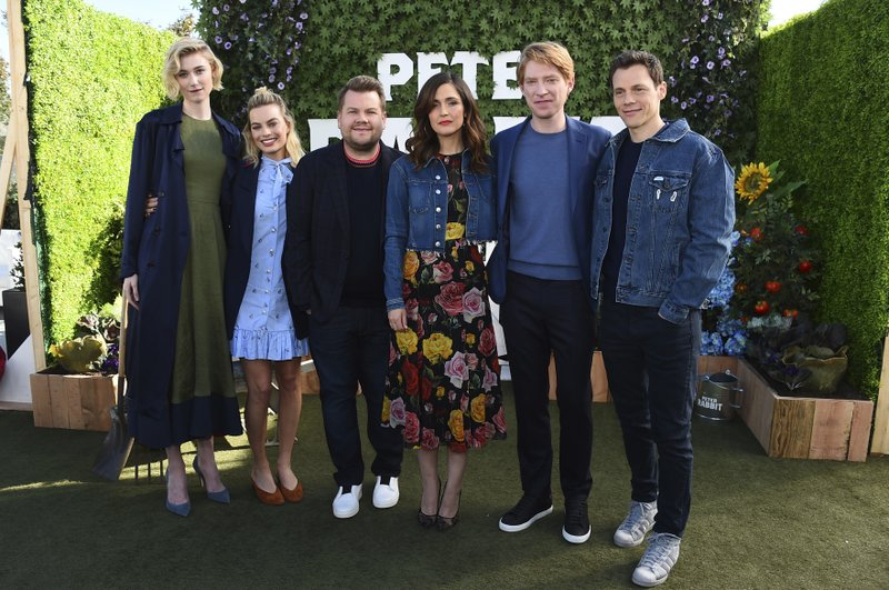 Elizabeth Debicki, Margot Robbie, James Corden, Rose Byrne, Domhnall Gleeson, Will Gluck