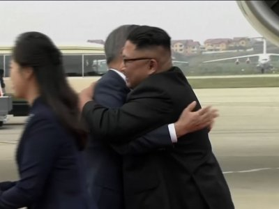 Moon returns home after North Korea trip