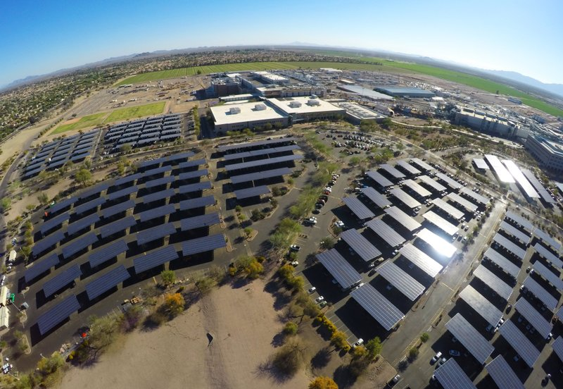 Intel's 3 Million Square Feet of Solar Panels Help Heat, Cool and Light