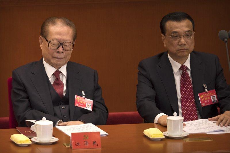 Jiang Zemin, Li Keqiang