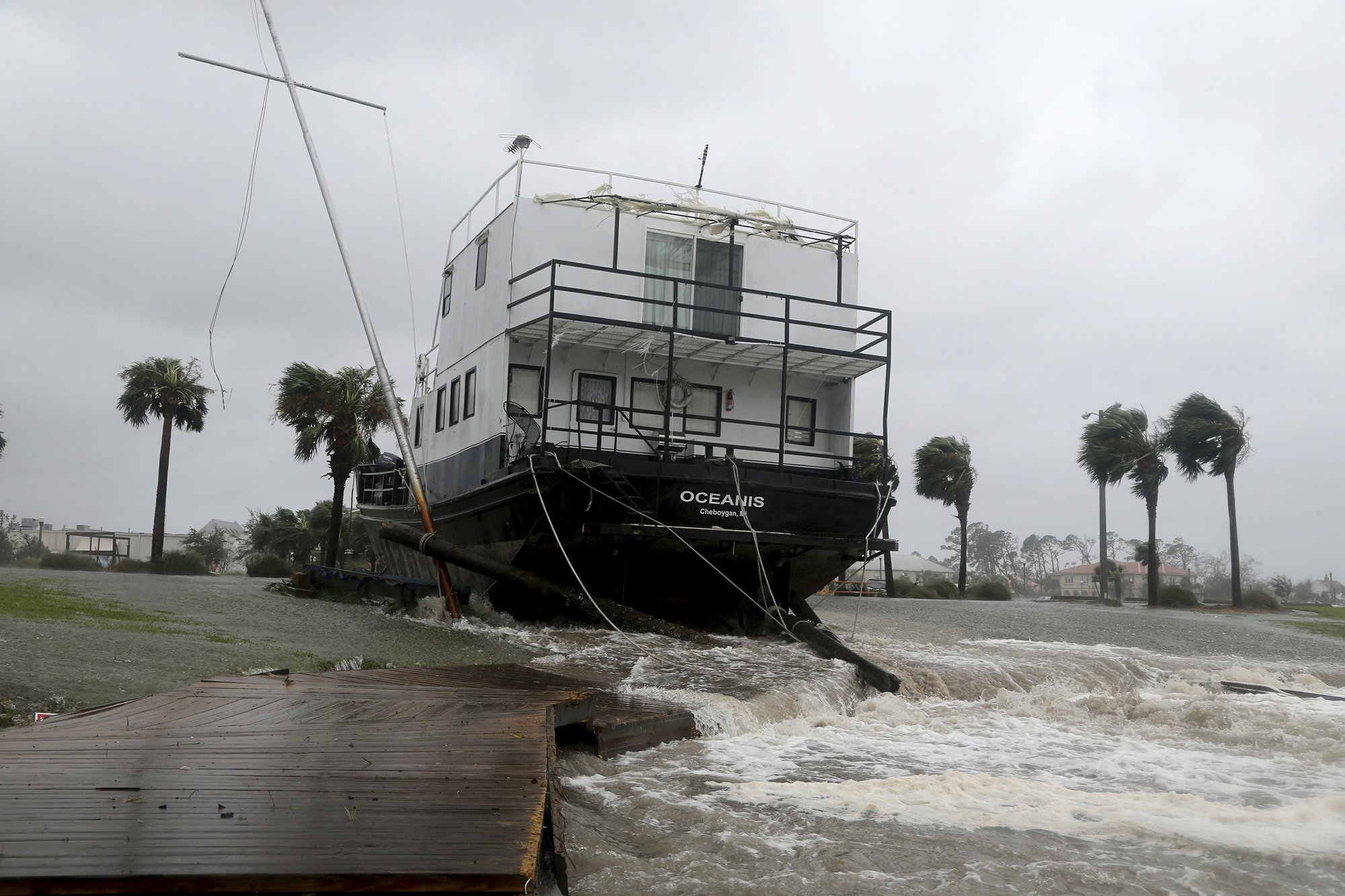 Catching Some Hell Hurricane Michael Slams Into Florida