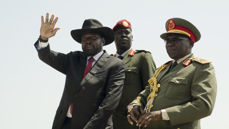 Salva Kiir, Paul Malong