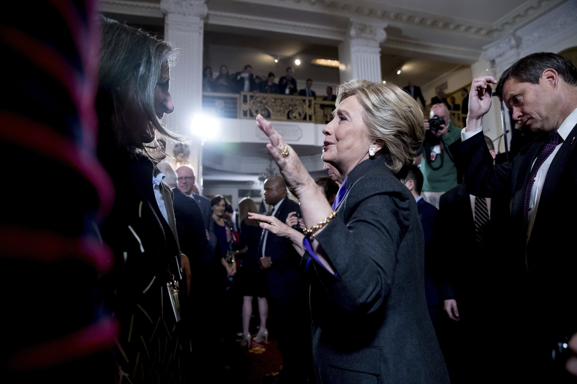 Trump claims mandate; Clinton says give him 'chance to lead'