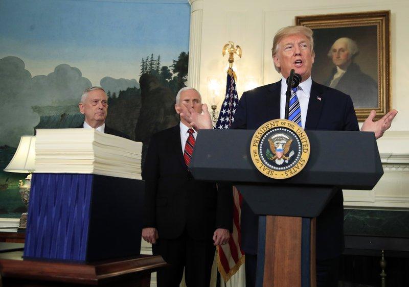 Donald Trump, Jim Mattis, Mike Pence