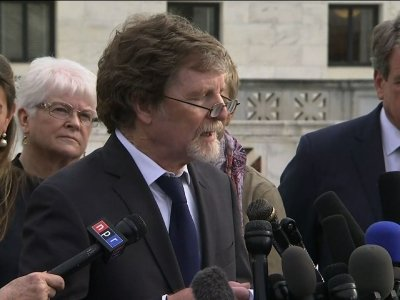 Baker And Gay Couple At Court For Cake Arguments