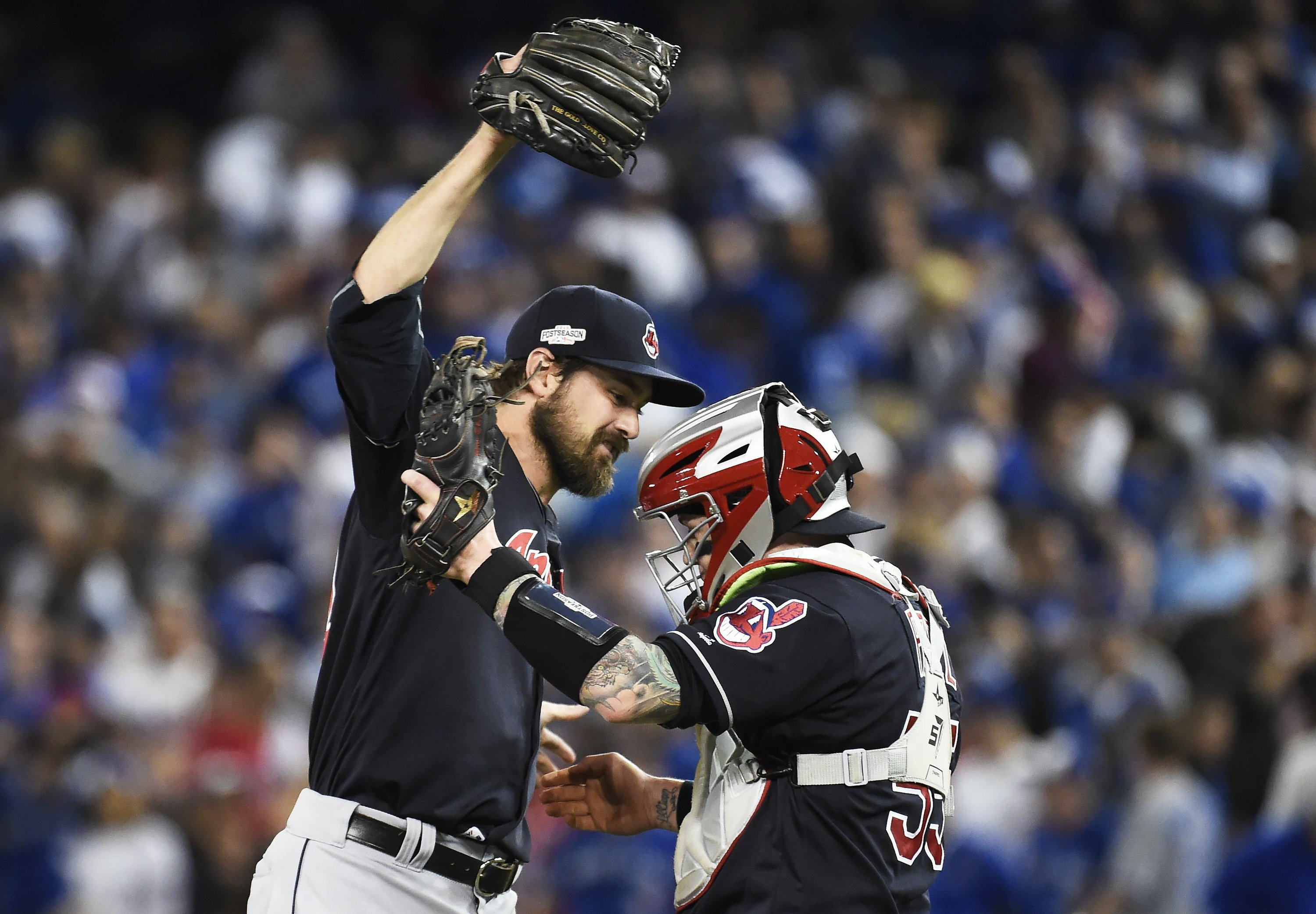 Bullpen great again, Indians top Blue Jays for 3-0 ALCS lead